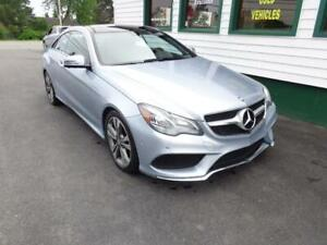 2014 Mercedes-Benz E350 Coupe (Light blue in colour!)