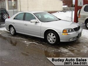 2002 LINCOLN LS.