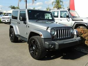 2014 Jeep Wrangler JK MY13 Overland (4x4) Silver 5 Speed Automatic Softtop South Nowra Nowra-Bomaderry Preview