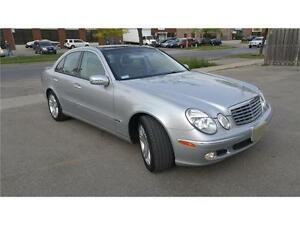 Mercedes Benz E500 Avantgarde Low Km CLEAN Certified Etested