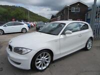 2009 09 BMW 1 SERIES 2.0 116D SPORT 3D 114 BHP DIESEL