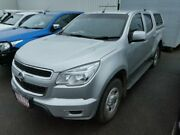2014 Holden Colorado RG MY14 LX (4x4) Silver 6 Speed Automatic Crew Cab Pickup Atherton Tablelands Preview