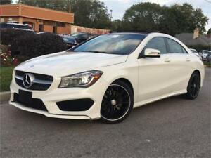 2014 Mercedes-Benz CLA250-4MATIC-AMG PKG-PANO-XENON-HEATED