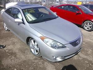 parting out 2005 Toyota solara