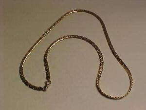 "#946-14K YELLOW GOLD NECKLACE-18"" LOBSTER CLAW CLOSURE-FREE SHIPPING IN CANADA-WILL ACCEPT EBANK TRANSFER-"