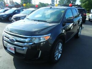 2014 FORD EDGE SEL- PANORAMIC SUNROOF, NAVIGATION SYSTEM, POWER
