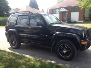 2002 Jeep Liberty Limited, Laval
