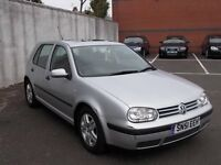 VOLKSWAGEN GOLF 1.4 HATCHBACK 51 REG ,, NICE CLEAN CAR FOR YEAR,, MOT APRIL 2019 NO ADVISORIES