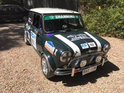 COLLECTABLE CLASSIC CARS - 1968 Morris Mini  - Tarmac rally car Strathalbyn Alexandrina Area Preview