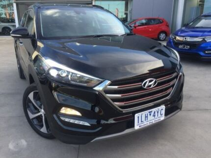 2017 Hyundai Tucson TLe MY17 Highlander D-CT AWD Black 7 Speed Sports Automatic Dual Clutch Wagon Ravenhall Melton Area Preview