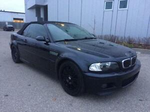 2004 BMW M3 CONVERTIBLE SMG TRANSMISSION BLUE