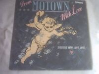 Vinyl LP From Motown With Love - Various Artists K-Tel NE 1381