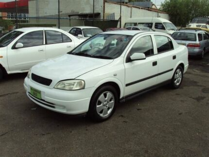 2001 Holden Astra TS CD White 4 Speed Automatic Sedan Punchbowl Canterbury Area Preview