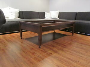Coffee table Natuzzi table a cafe
