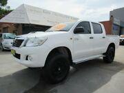 2013 Toyota Hilux KUN26R MY14 SR (4x4) Automaitc !! 5 Speed Automatic Dual Cab Pick-up Granville Parramatta Area Preview