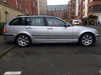 2005 BMW 320D TOURING SE turbo diesel estate 6 SPEED TV SAT NAV FULL LEATHER P/X SWAP