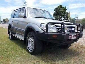 2000 Toyota LandCruiser Wagon Mount Louisa Townsville City Preview