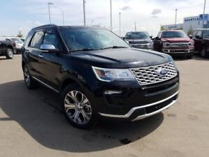 2018 Ford Explorer Platinum-3.5L V6 Ecoboost Engine,4WD,Leather,