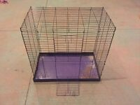 Big steel cage for pet