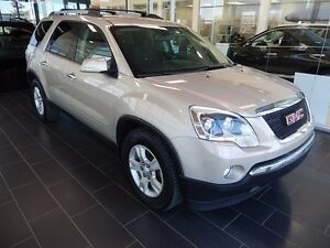 2010 GMC Acadia SLE, Second Row Captains Chairs, DVD Player