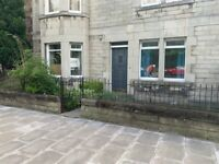 3 bed apartment flat in desirable New Town/Broughton location