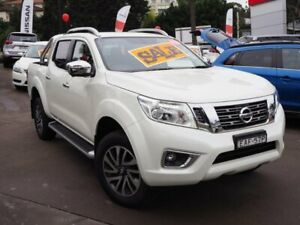 2018 Nissan Navara D23 S3 ST-X White 7 Speed Sports Automatic Utility Brookvale Manly Area Preview