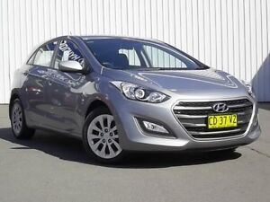 2015 Hyundai i30 GD3 Series II MY16 Active Grey 6 Speed Sports Automatic Hatchback Kings Park Blacktown Area Preview