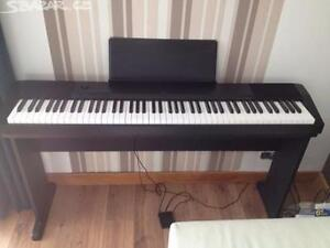 Casio Piano CDP-120 w/t Stand, pedal, adapter ** 88 full keys **