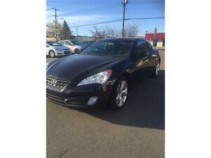 2011 Hyundai Genesis Turbo  Black coupe   NICE!    CHEAP
