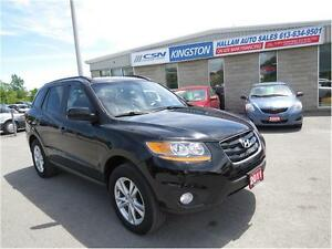 2011 Hyundai Santa Fe GL Sport, Sunroof, Leather/ Suede Interior