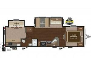 Family Bunkhouse- Keystone Sprinter 31 BH