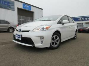 2012 Toyota Prius Hybrid-REAR CAM,WINTER TIRES,WARRANTY,$13495