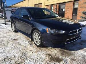 2013 Mitsubishi Lancer AWD!!! LEATHER/HEATED/BLUETOOTH