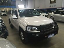 2012 Volkswagen Amarok 2H MY12 TDI400 (4x4) White 6 Speed Manual Dual Cab Utility Beckenham Gosnells Area Preview