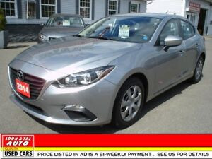 2014 Mazda Mazda3 $15995.00 financed price - 0 down payment* spo