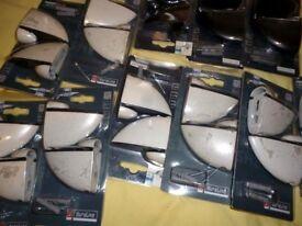 Duraline Glass Shelf Brackets X 22 (11x2 pack) JOBLOT .Brand new unused RRP £150+