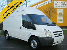 2008/ 58 Ford Transit 115 T350m High roof panel van Rwd Low miles 2.4Tdci lez