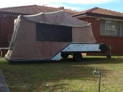 #1806 Camper trailer full annexe Free delivery Werrington County Penrith Area Preview