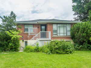 Downtown Whitby 3 Bedroom  Bungalow Main Floor Avail Now