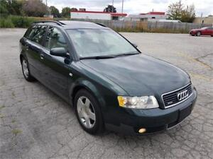 2004 Audi A4 1.8T WAGON QUATTRO LEATHER SUNROOF CERTIFIED