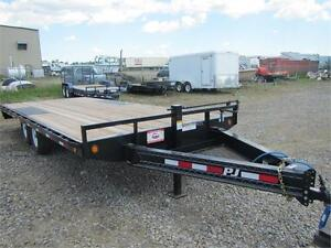 PJ TRAILERS 2016 MODEL YEAR CLEAR OUT *** 20 FOOT *** Deckover
