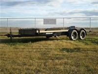 16FT CAR HAULER*8,050lbGVWR*PRESSURE TREATED DECK*TUBE MAINFRAME
