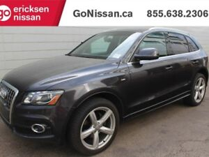 2012 Audi Q5 S LINE - LEATHER, MOON ROOF, HEATED SEATS