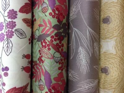 Lewis and Irene Autumn Fields Collection fabric by the half metre