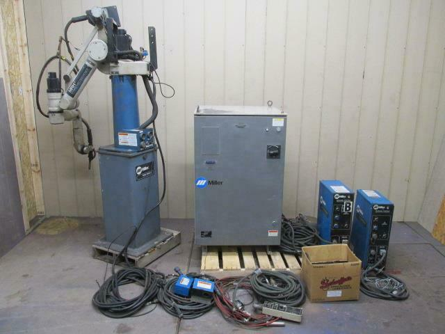 Miller MRH2 Welding Robot 5 Axis Computer Interface Control Cables Controller ++