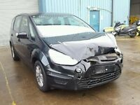 BREAKING FOR PARTS FORD S-MAX ZETEC 2011 2.0 TDCI 140 BHP IN PANTHER BLACK