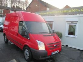 FORD TRANSIT 2.2 350 LONG WHEEL BASE, HIGH TOP, TREND MODEL, 14 (red) 2012