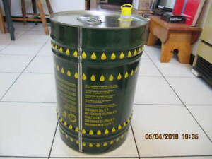 Gruppo Asa 25 Litre Metal Used Olive Oil Container From Italy!!