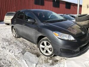 Toyota Matrix 2010 XR -AWD(4x4) automatique118 000km