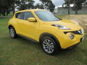 2016 Nissan Juke F15 Series 2 ST (FWD) Yellow Continuous Variable Wagon Invermay Launceston Area Preview